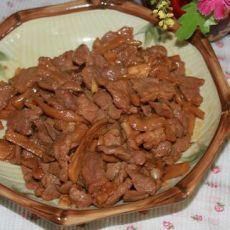 萝卜干炒猪肉