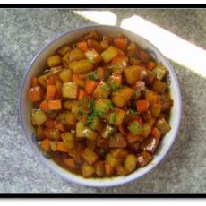萝卜土豆丁的做法