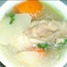 红白萝卜大骨汤