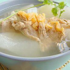 白萝卜瑶柱猪骨汤