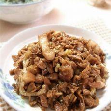 萝卜干炒花肉