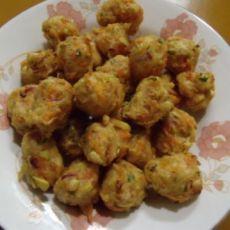 萝卜豆芽丸子