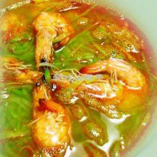 虾煮萝卜丝