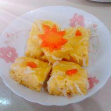 玉米萝卜糕