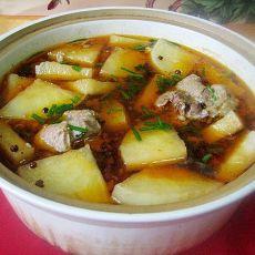 萝卜连锅汤(改良版)