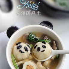 熊猫包心鱼丸