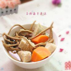 茶树菇芋头汤