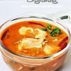 酸汤番茄鱼片的做法