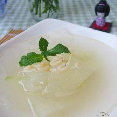 冬瓜虾皮汤的做法