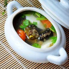 山药鳝鱼汤的做法