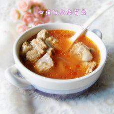 番茄排骨浓汤的做法