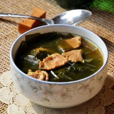 海带牛肉汤的做法