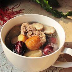枣栗鸭肉汤--立秋养生