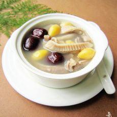猪肚白果汤的做法