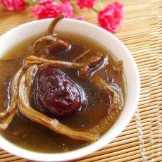 茶树菇煲鸭汤的做法