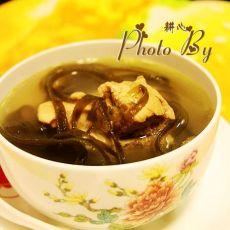 海带龙骨汤的做法