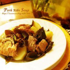 海带土豆排骨汤的做法