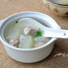 冬瓜肉丸汤
