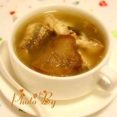 淡甲鱼菜脯汤