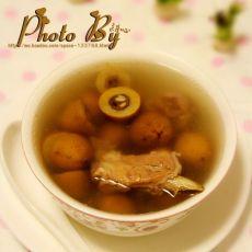 橄榄煲排骨汤的做法