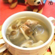 杂菇瘦肉汤