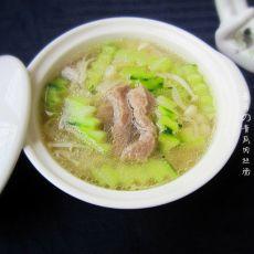 青瓜肉丝汤