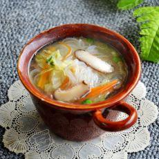大白菜香菇粉丝汤