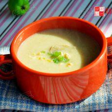 奶油鸡肉蘑菇浓汤