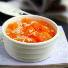 酒酿木瓜汤