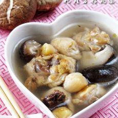 干贝香菇鸡汤