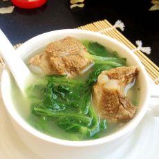 小白菜排骨汤