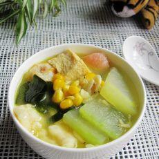 什锦冬瓜汤的做法