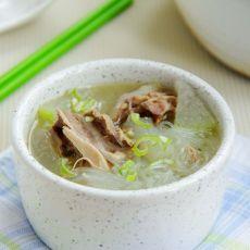 鸭架冬瓜粉丝汤