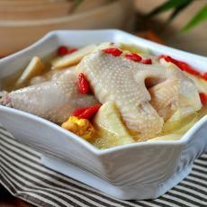 冬笋土鸡汤