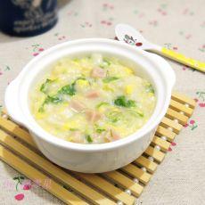 青菜疙瘩汤的做法