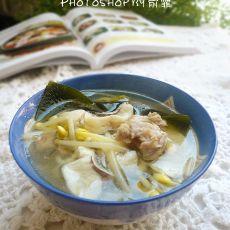 黄豆芽海带鱼片汤的做法