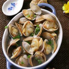 原汁白蛤的做法