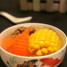 粟米甘笋鸭肉汤