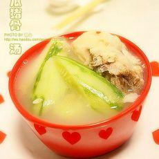 黄瓜猪骨汤