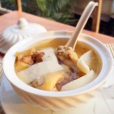 椰香鸡汤的做法