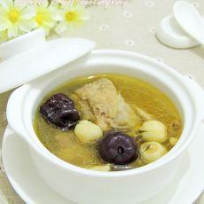红枣莲子鸡汤