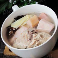 芋头排骨汤