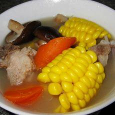 浓香玉米骨头汤的做法