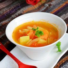 素罗宋汤的做法
