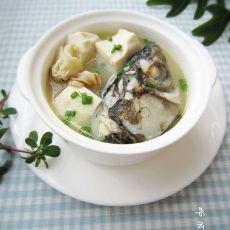 鱼头鱼骨豆腐汤