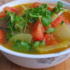 番茄土豆汤