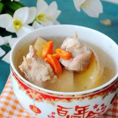 排骨苹果汤