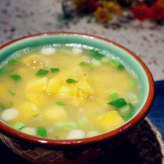 蒜香地瓜汤