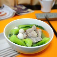 排骨蔬菜汤