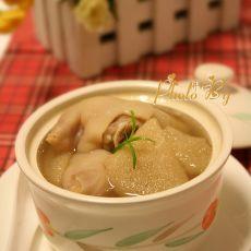 竹荪猪蹄汤的做法